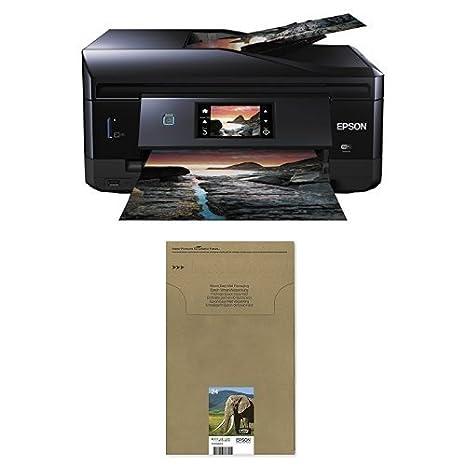 Epson Expression Photo XP-860 - Impresora multifunción de tinta (impresión WiFi y móvil), color negro + Cartucho Multipack envío facil