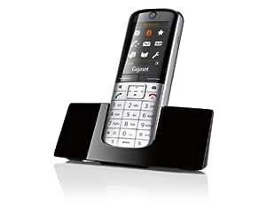 Siemens SL400H - Teléfono supletorio (DECT, 50 m, 300 m, Negro, Techo, Digital)
