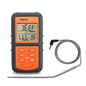 Cooking Thermometers New Digital LCD Thermometer For BBQ Grill Meat Kitchen Oven Food Cooking