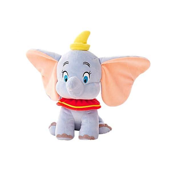 Windup Dumbo Elephant Miniature Plush Toy – 16 cm Action Figure Toy with 4 cm Hanging Hook – Bal Ganesha