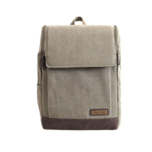 troop-london-trk-001-unisex-casual-backpack-canvas-fabric-leather-waterproof-beige