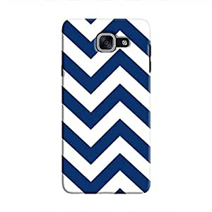 Cover It Up - Jagged Blue&White Galaxy J7 PrimeHard Case