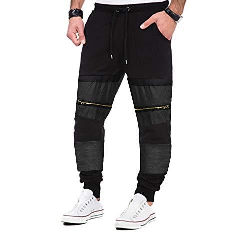 Hop Calda Jogging Pantaloni Autunno Patchwork Leggings Nero Abcone Per Hip Con Tasche Uomo Coulisse Della Vendita Tuta WA1gp
