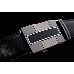 1pc Automatic Buckle Brand Designer Leather Belts for Business Men Which High Quality and Luxury for Man - Style 1
