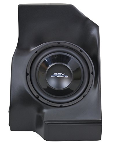 SSV Works Polaris Arctic Cat Wildcat Trail / Sport Behind the Seat Subwoofer Enclosure INCLUDES 10