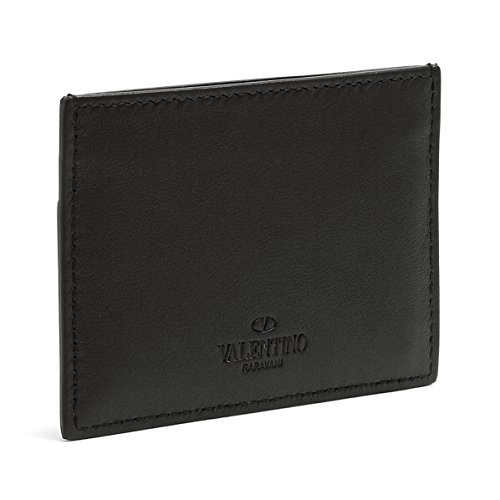 Leather Rockstud Valentino Cardholder Valentino Leather Rockstud 7qgxn76Zwt