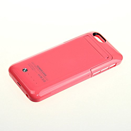 Excellent Value Apple 6s Portable Charger 3500mah Power Case (Pink) External Backup Battery For iPhone 6 6S