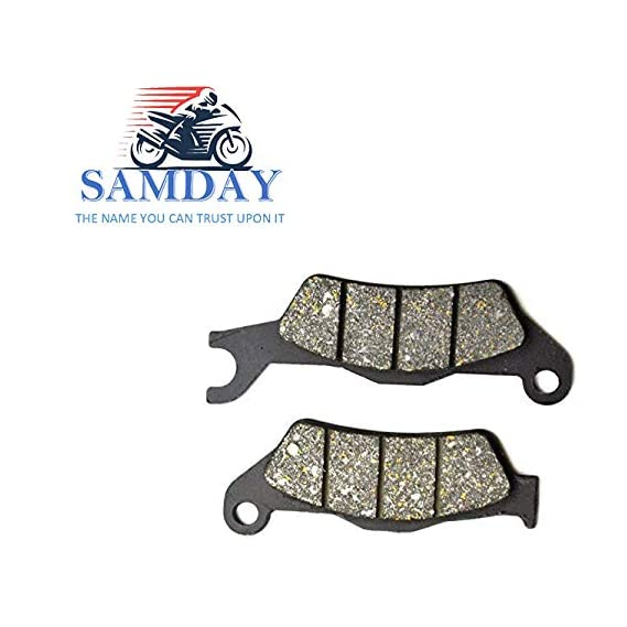 SAMDAY Front Brake Disc Pad Compatible for TVS Apache RTR