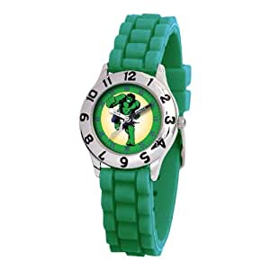 Marvel Kids' MA0103-D2808-GreenRubber Marvel 'Hulk' Classic Time Teacher Watch