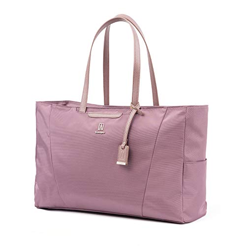 (Travelpro Luggage Maxlite 5 Women's Laptop Carry-on Travel Tote, Dusty Rose, One Size)