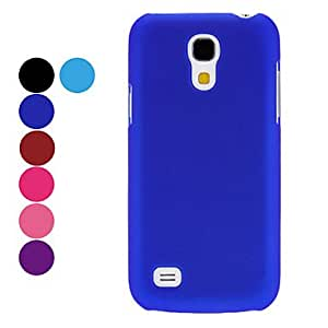 Simple Design Hard Case for Samsung Galaxy S4 Mini I9190 (Assorted Colors) --- COLOR:Rose
