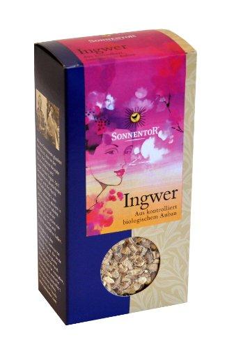 Sonnentor Tee Ingwer lose, 1er Pack (1 x 90 g) - Bio