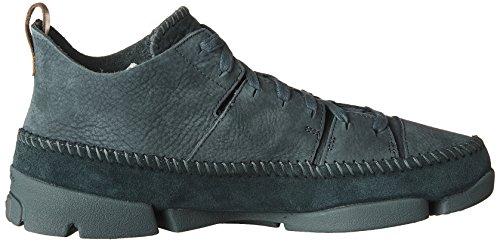 Clarks Mænds Ruskind Trigenic Flex Sneakers Smaragd Nubuck 99I57leh