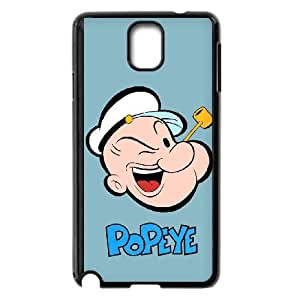 Samsung Galaxy Note 3 Cell Phone Case Black Popeye the sailor vbb