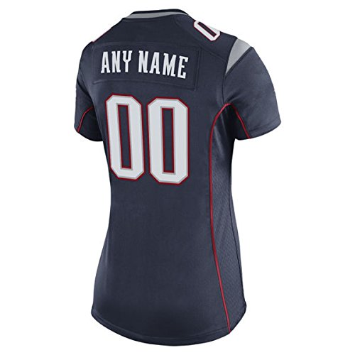 CustomYO-Jersey Women's Team Boston Pats Gameday Jersey Navy Blue Custom Personalized Game Jersey Stitched With Name and (2)