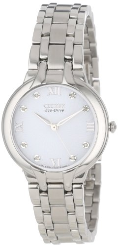 Citizen Women's EM0130-54A  Eco-Drive Bella Diamond-Accented Bracelet Watch