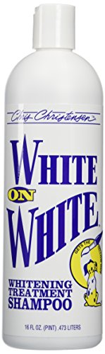Chris Christensen White on White Shampoo for Pets,16 fl.oz. by Chris Christensen