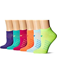 New Balance Women's Lifestyle No Show 6 Pack Wm Socks