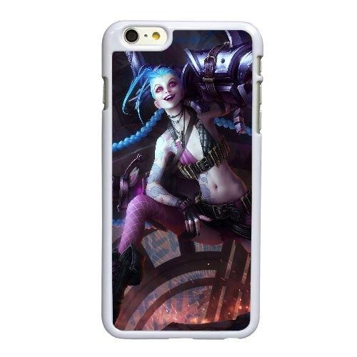 I5F98 League of Legends R5Q1TO coque iPhone 6 Plus de 5,5 pouces cas de couverture de téléphone portable coque blanche KV5HQD4MG