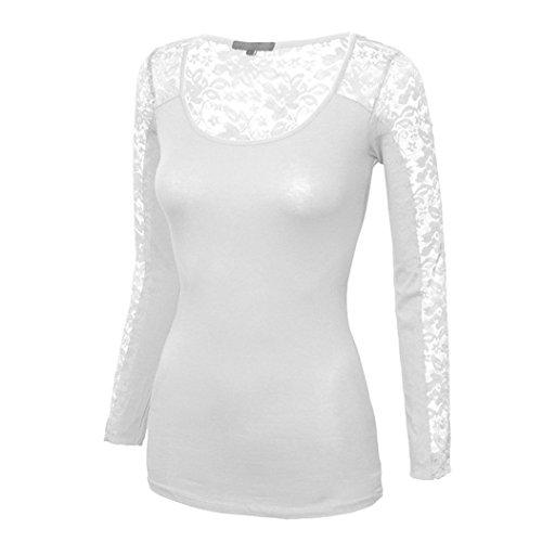MTTROLI - Camisas - para mujer gris claro