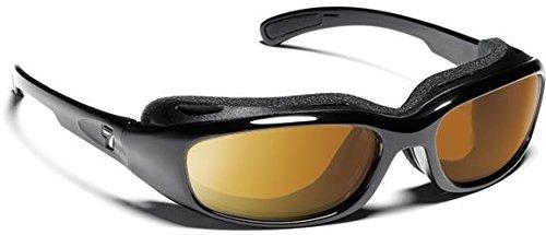 7 Eye Churada Sunglasses, Glossy Black Frame, 24 - 7 Contrast - Sunglasses 24/7