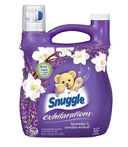 Snuggle Exhilarations Liquid Fabric Softener, White Lavender