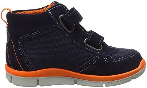 Hautes Ricosta ozean Garçon Sneakers orange Rory nautic Bleu 173 zzEv4wq