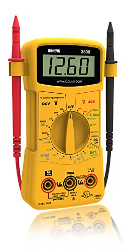 Innova 3300 Hands-free Digital Multimeter (10 MegOhm)