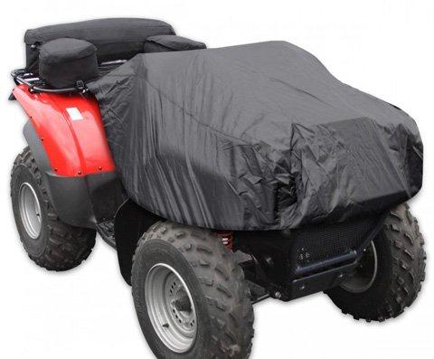 Kwik Cover Atv Tek - Kwik Tek ATV Logic ATV Rack Bag/Cooler/Cover - Black - ATVCRB-B - Orange Cycle Parts