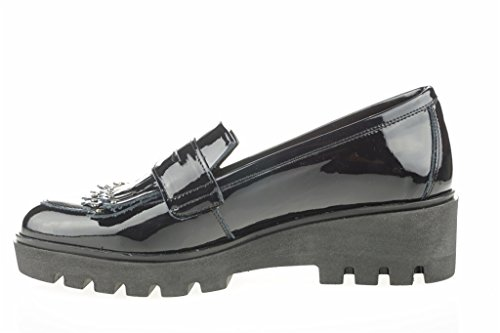 Chaussure Brevets Lince SISI Noir Shoes DE azwEqRT