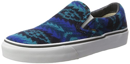 Blu Donna Classic Slip Vans Blu On aI8gq