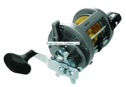 Shimano Tekota 800 Conventional Reel with Line Counter (4.2:1), 65 Pounds/780 Yards