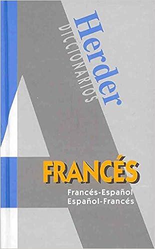 Dicc. Moderno Fra/esp - Esp/fra (Editor Herder)