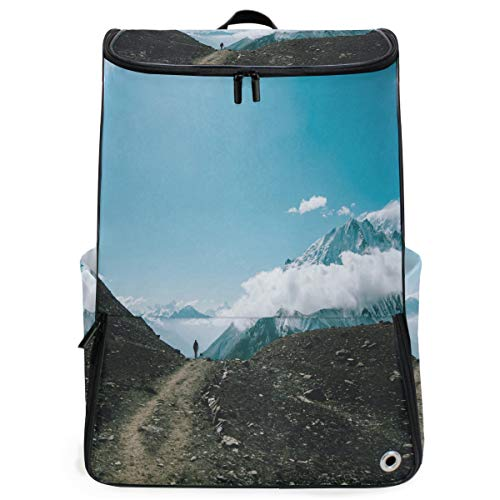 (Travel Backpack Mountain Tourists Duffle Backpack for Men Big Carry On Back)