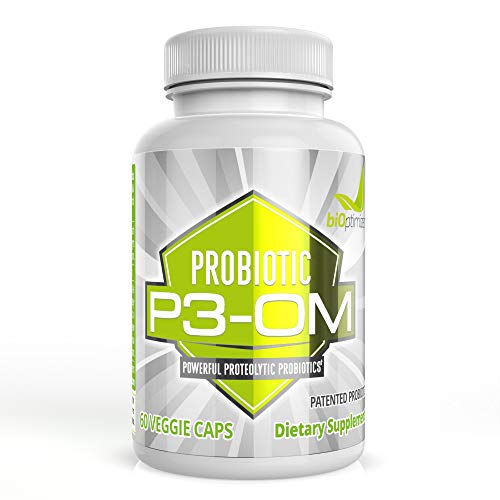 P3-OM - Friendly and Ferocious Probiotic for Women and Men - Patented Single Strain - Doctor-Formulated - No Refrigeration Needed - Boosts Immunity - Supports Digestive Health (60 Capsules)