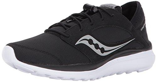 Saucony Women's Kineta Relay Running Shoe, Black, 8 Medium US by Saucony