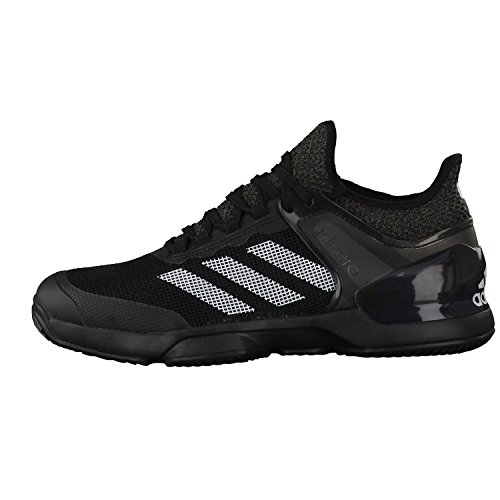Chaussure Adidas Adizero Ubersonic 2 Black Clay Printemps 2017