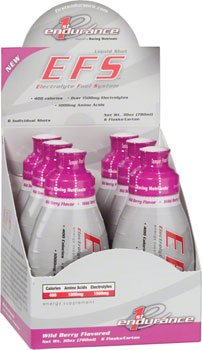 First Endurance EFS Liquid Shot - 6 Pack One Color, Wild Berry (Net Wt. 30 oz.) by First Endurance