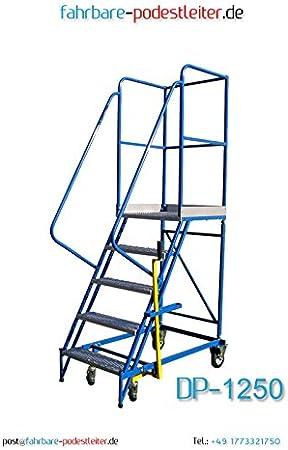 Conducción Bare podio Escalera 4 peldaños Escalera Escaleras con ruedas acero Escalera Tope con hebem Achan Ismus: Amazon.es: Bricolaje y herramientas