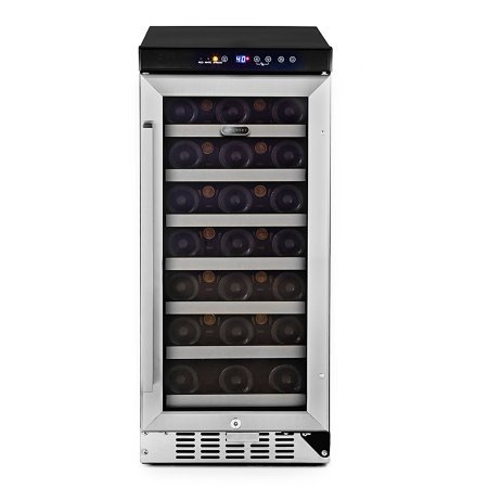 Whynter Wine Cooler (Stainless Steel, BWR-33SD) by By Whynter