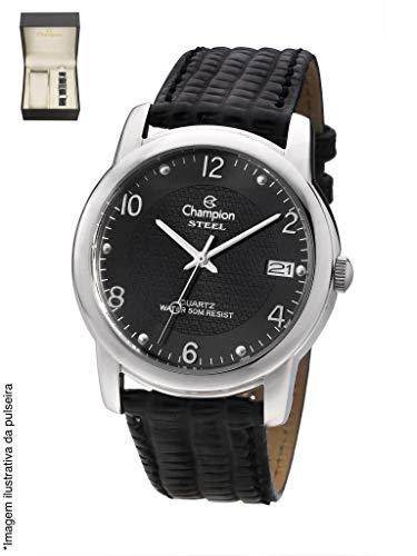 Relógio Champion Masculino com calendário kit com pulseira CA20447C