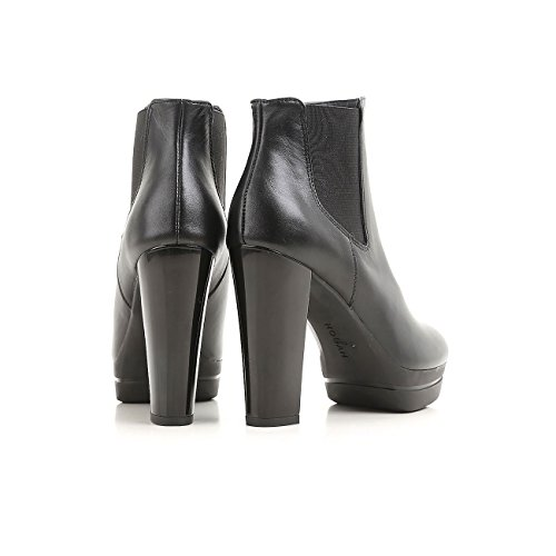 Hogan Ankle Boots opty H313 Aus Leder Schwarz, Damen.