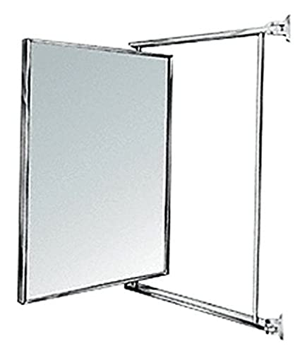 Amazon Com Crl 14 X 22 Chrome Swing N Vue Double Hinged Mirror By