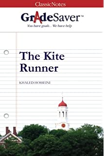 amazon com the kite runner sparknotes literature guide  gradesaver tm classicnotes the kite runner study guide
