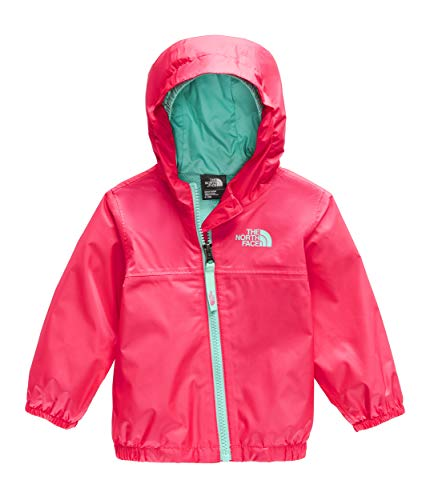 The North Face Kids Unisex Zipline Rain Jacket (Infant) Atomic Pink 12-18 Months
