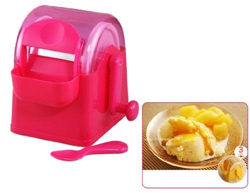 DIY ABS Resin Ice Cream Maker (Red)