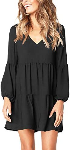 Amoretu Womens Sleeve Tunic Dresses product image