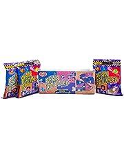 Jelly Belly Bean Boozled set geluksfiets + drie 54 g zakken Jelly Beans