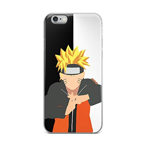 iPhone 6 Plus/6s Plus Case Anti-Scratch Japanese Comic Transparent Cases Cover My Ninja Way Anime & Manga Graphic Novels Crystal Clear