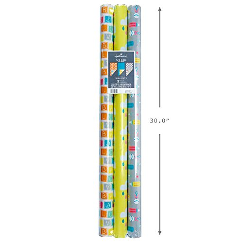 Buy baby shower wrapping paper
